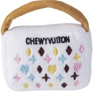 CHEWY VUITTON Small Plush Handbag Chew Toy